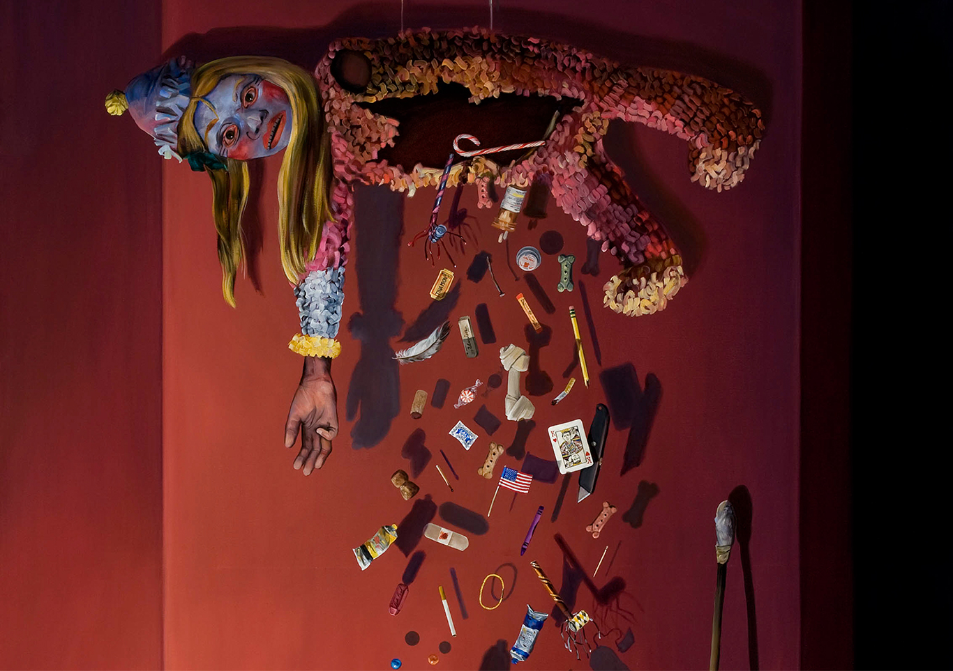 Tina Mion art, Piñata
