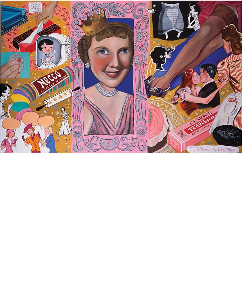 The Fabulous Fifties - Mamie Eisenhower, Two of Diamonds, Tina Mion