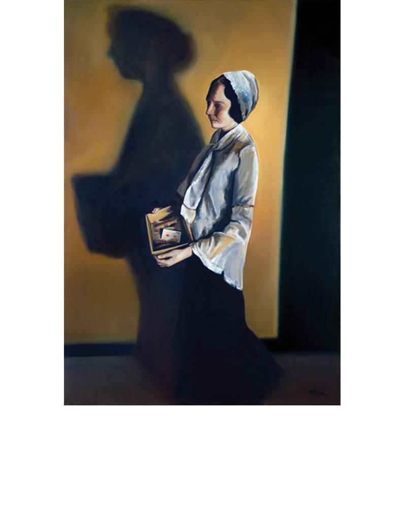 Jane Pierce painting Tina Mion art