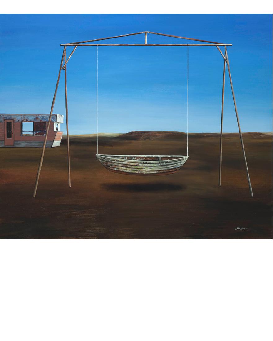 Afloat, Tina Mion art