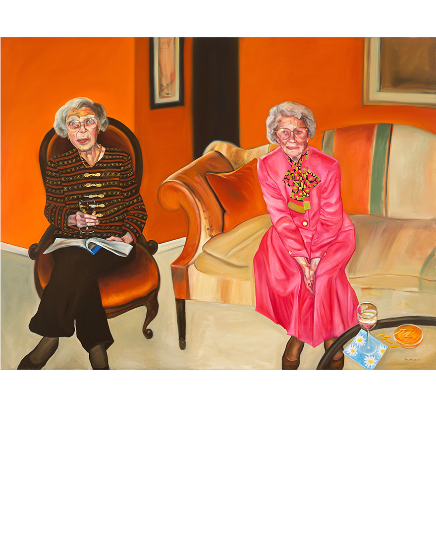 Aunts, Tina Mion art
