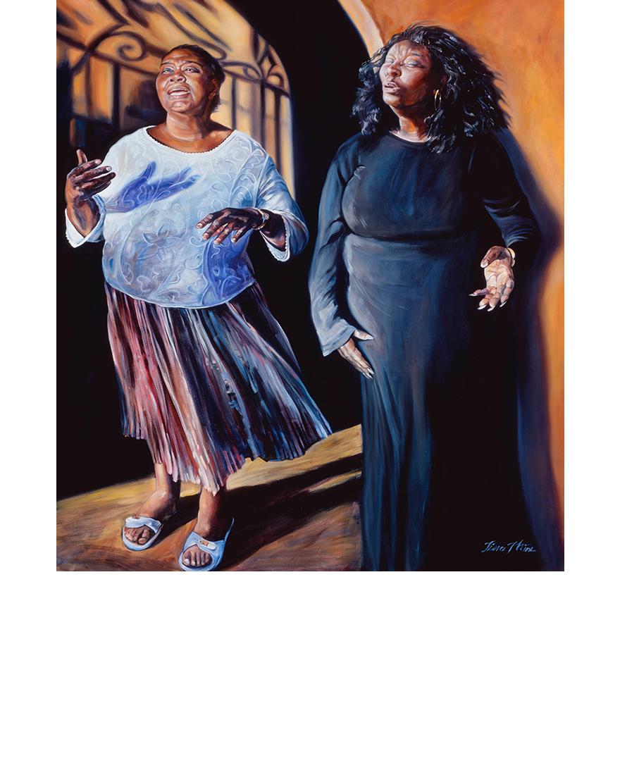 Glory, Tina Mion art