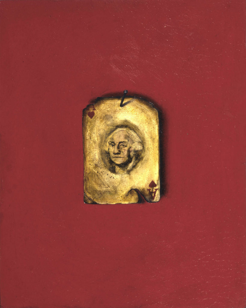 George Washington art tina mion painting president