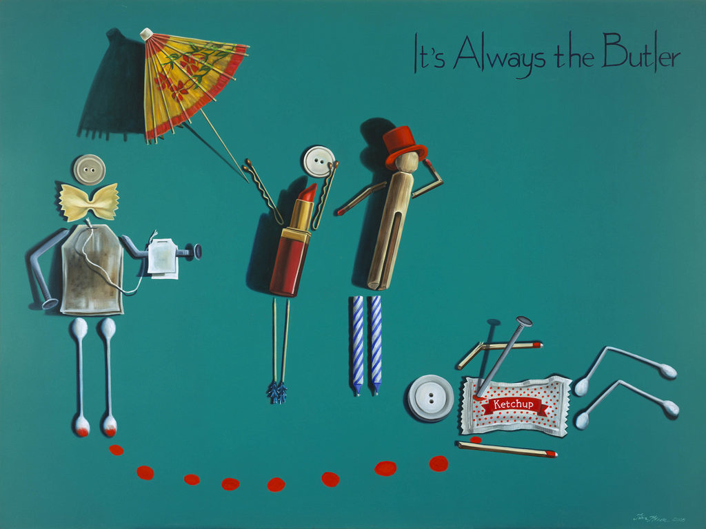 Its Always the Butler Tina Mion Art Objects