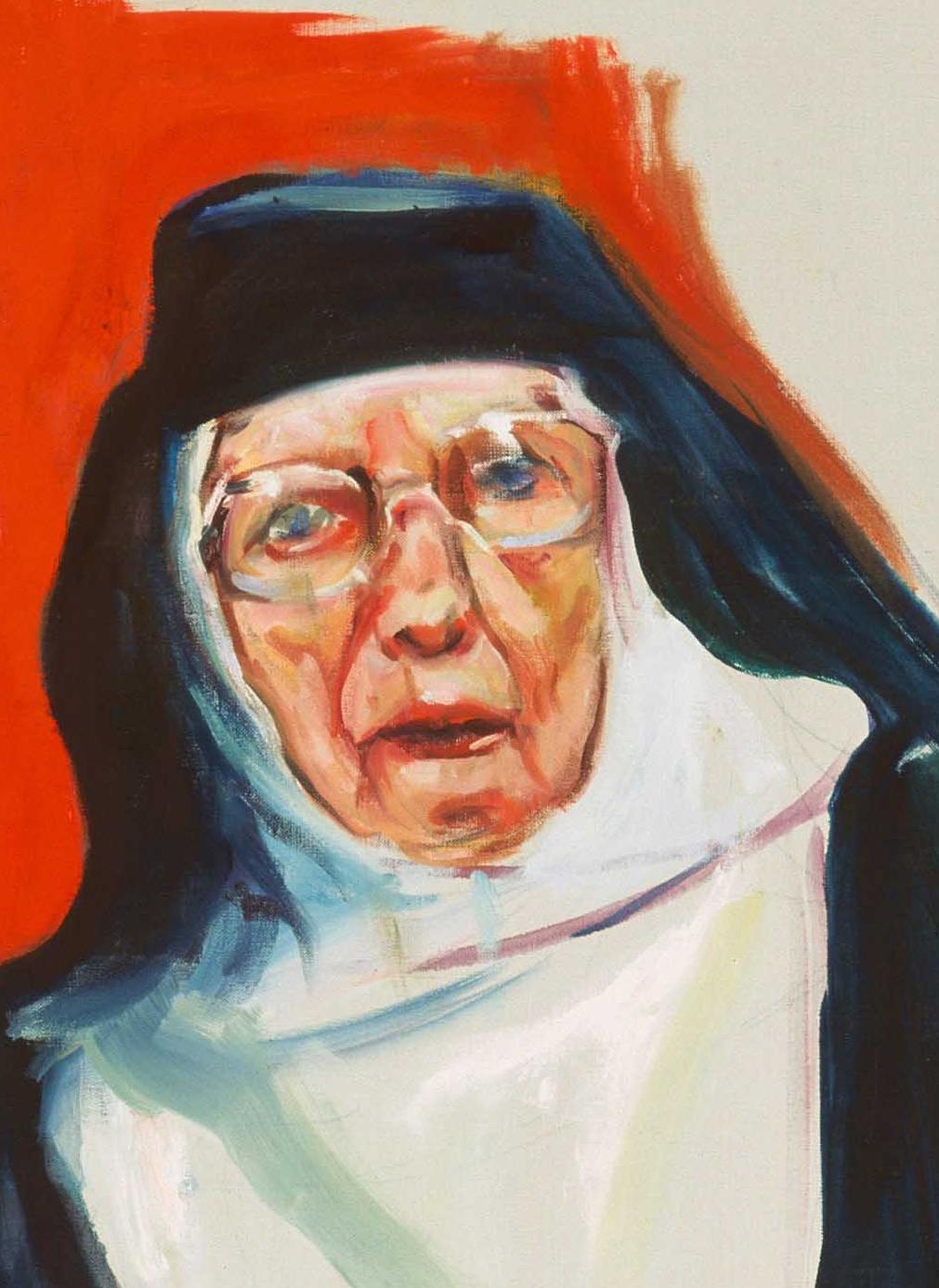 Tina Mion art Details Nuns and Babushkas