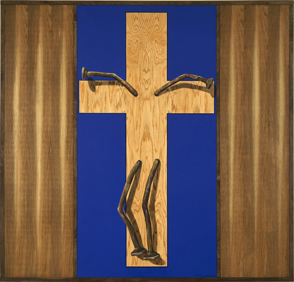 Crucifiction Tina Mion Art Objects painting