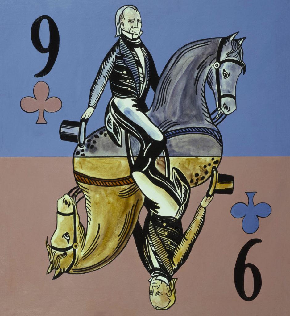 James Knox Polk art tina mion painting