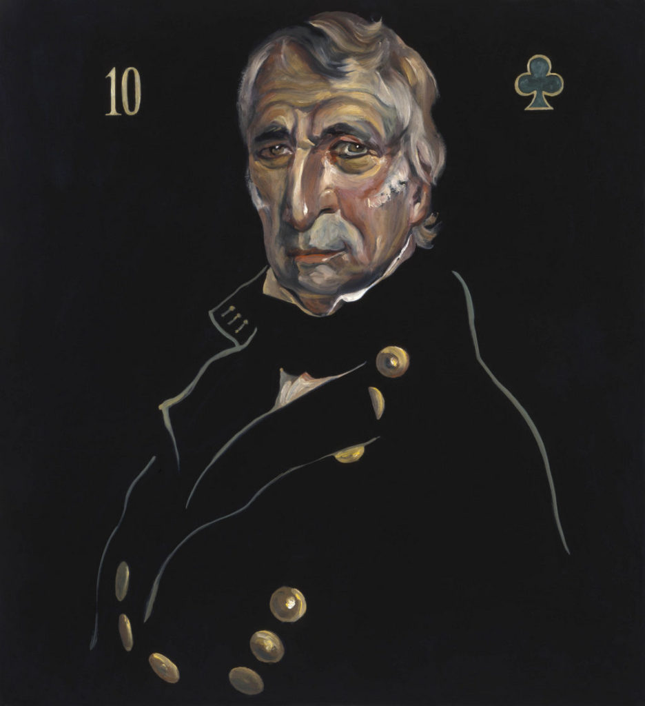 Zachary Taylor art tina mion painting