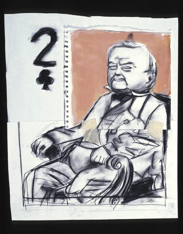 Millard Fillmore painting Tina Mion art