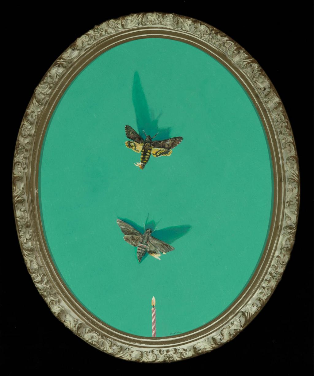 Suicide Moth tina mion art
