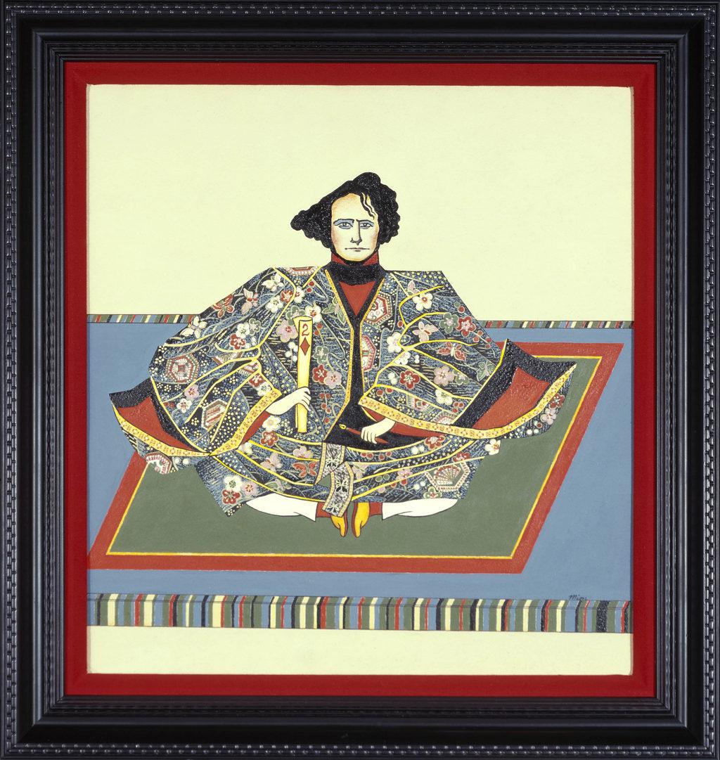 Franklin Pierce art tina mion painting