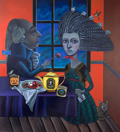 Abigail Adams painting Tina Mion art
