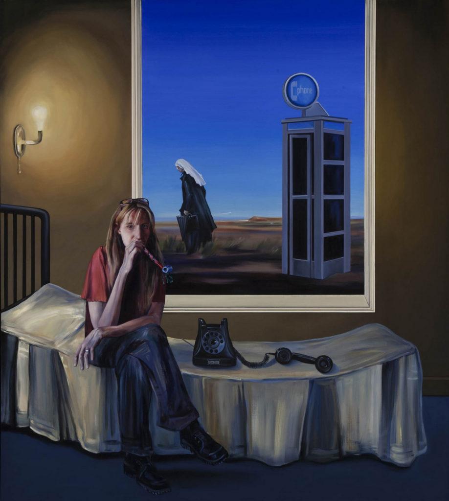 The Calling, Self Portrait tina mion art