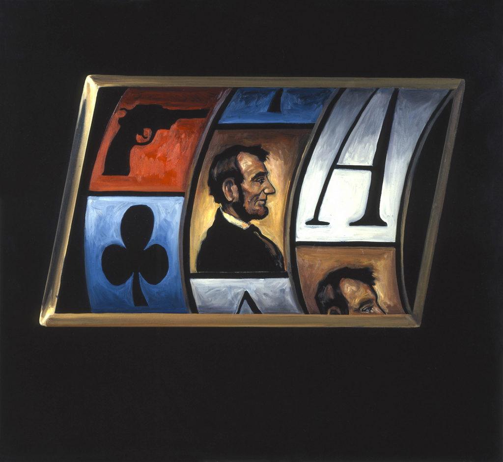 Abraham Lincoln art Tina mion painting
