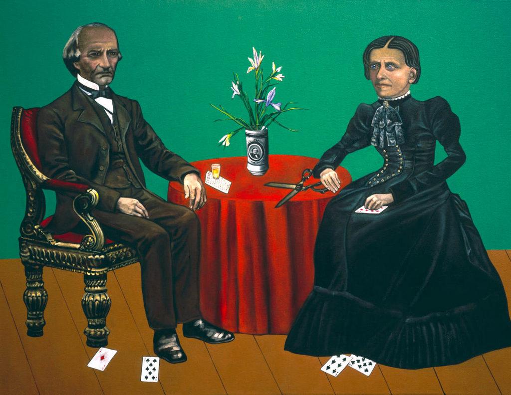 Eliza McCardle Johnson art tina mion painting