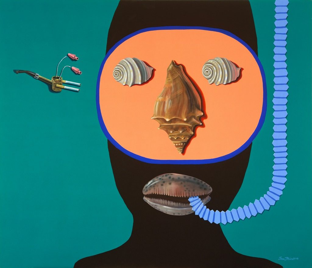 The Underwater World of Jacque Costaeu Tina Mion art objects