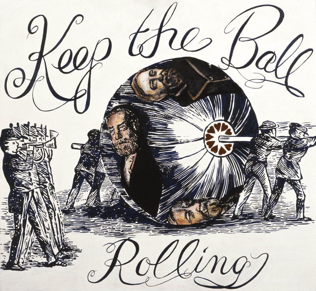 Benjamin Harrison art Tina Mion painting