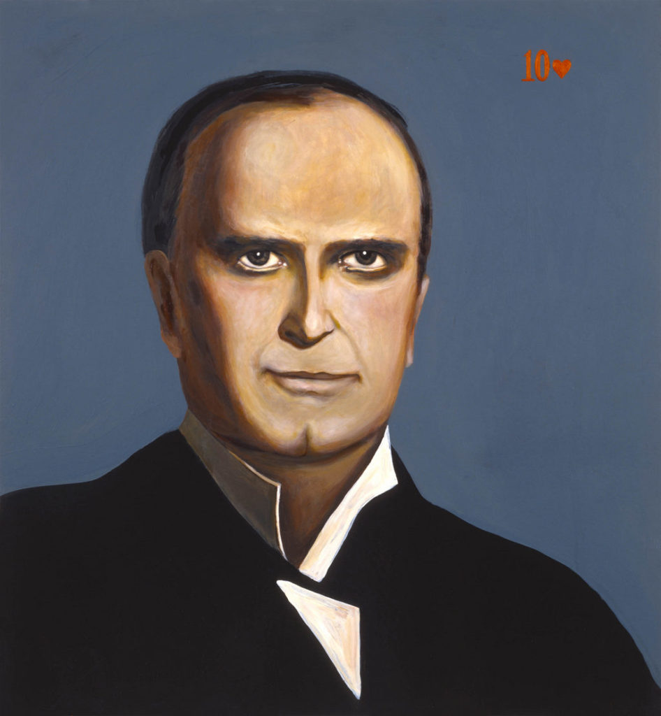 William McKinley art tina mion painting