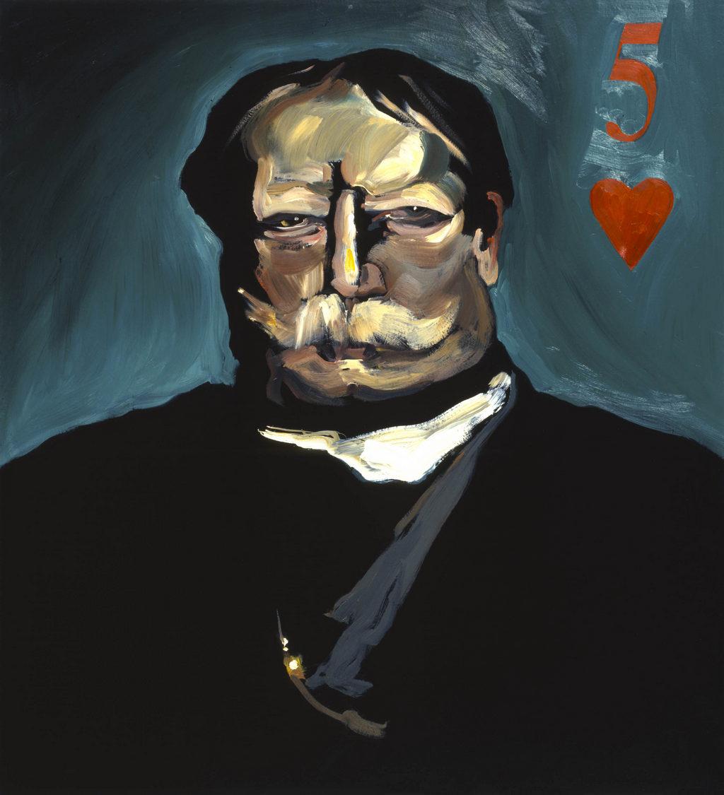William Howard Taft art Tina Mion painting