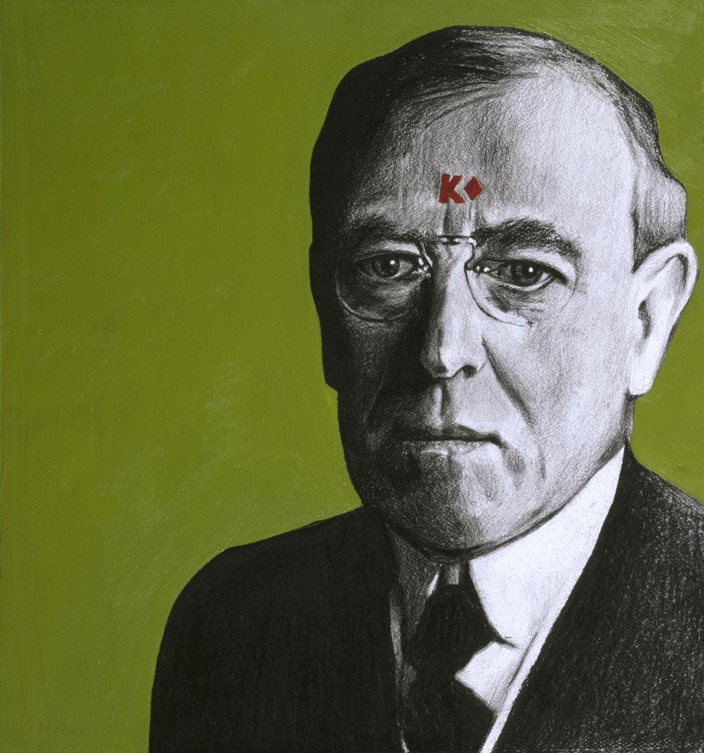 Woodrow Wilson art tina mion painting