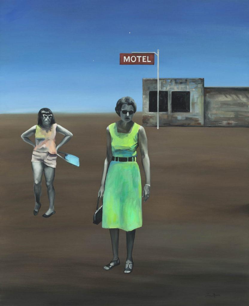 Two Stars Tina Mion art