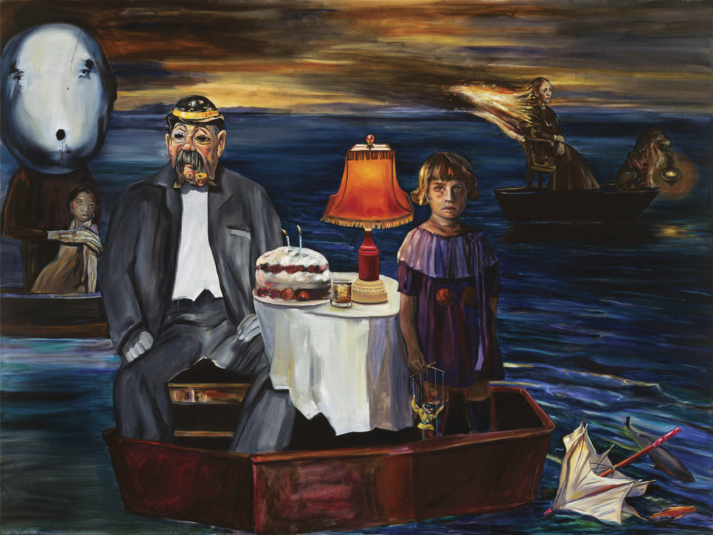 boatman Tina Mion art