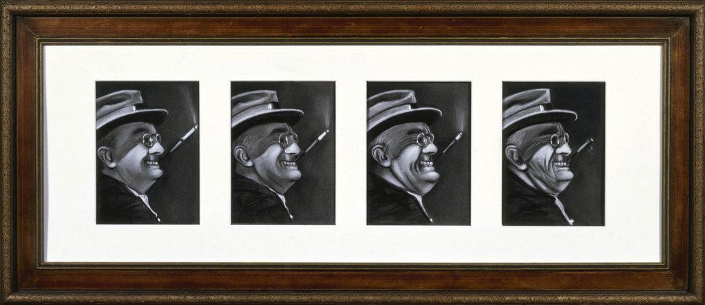 Franklin Delano Roosevelt art tina mion painting
