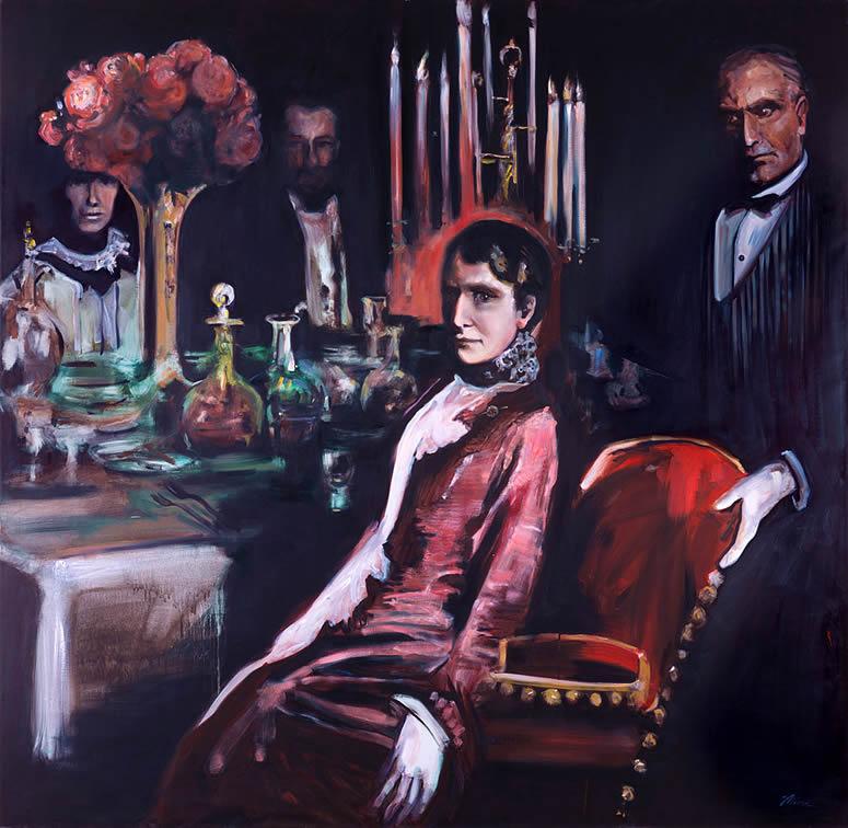 Ida McKinley art tina mion painting