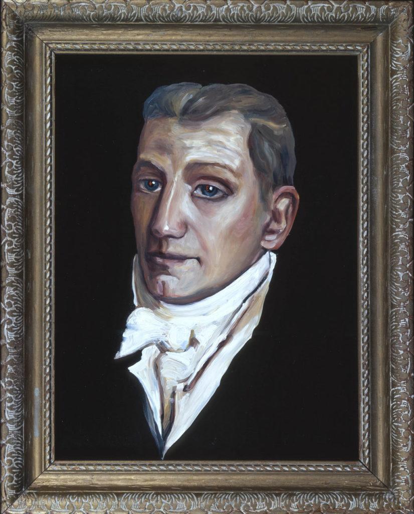 James Monroe art tina mion painting