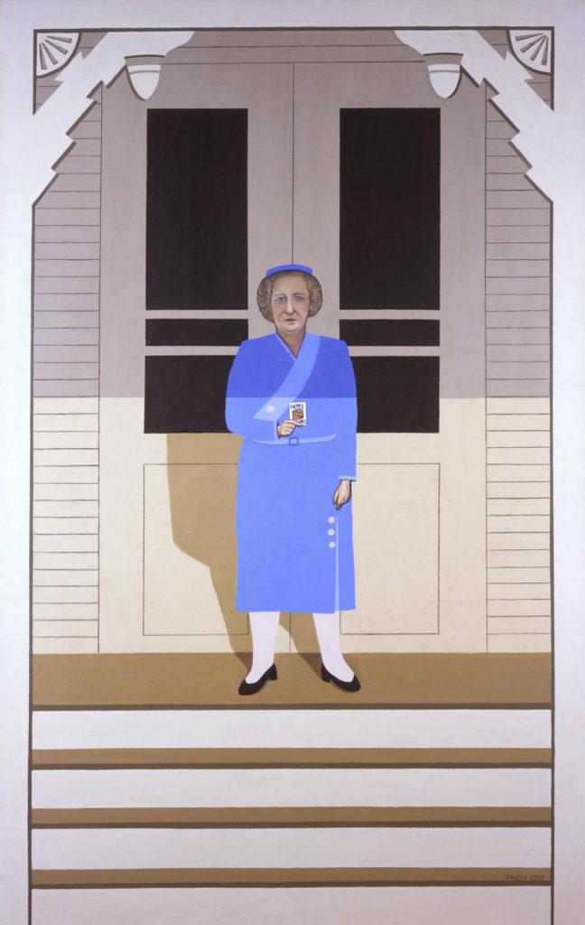 Bess Truman art tina mion painting first ladies