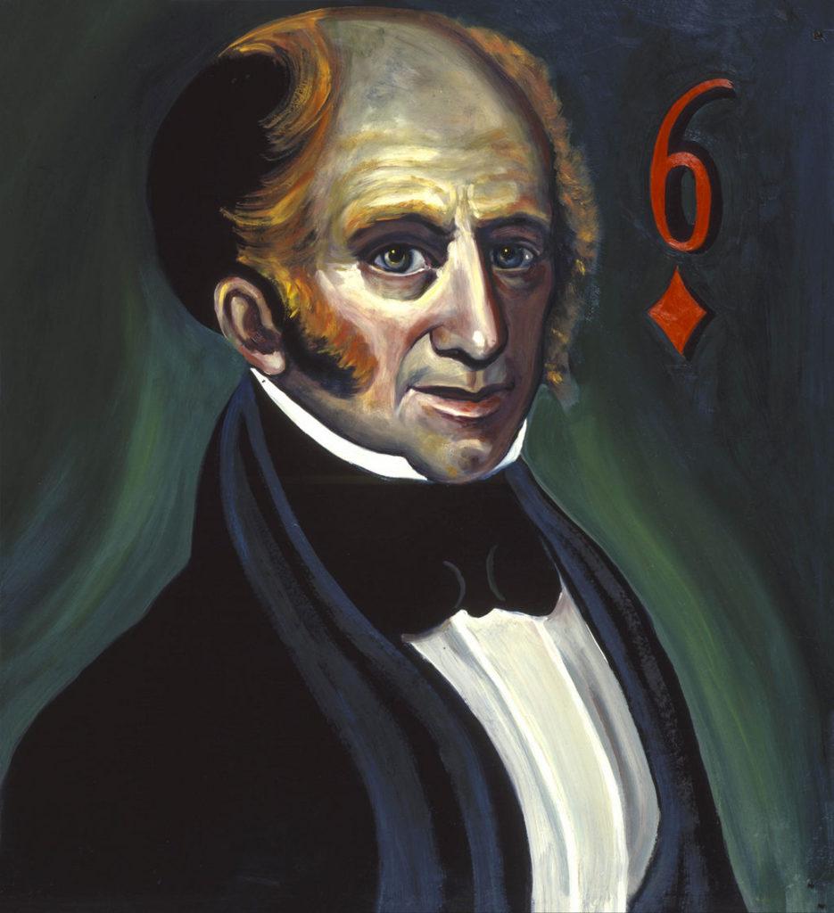 Martin Van Buren painting Tina Mion art