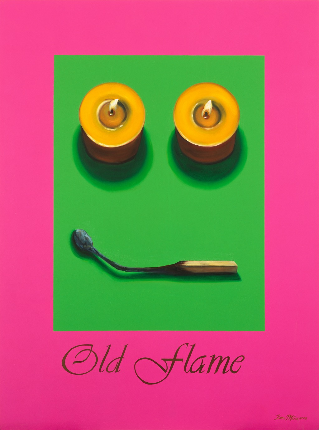 Old Flame Tina mIon art objects