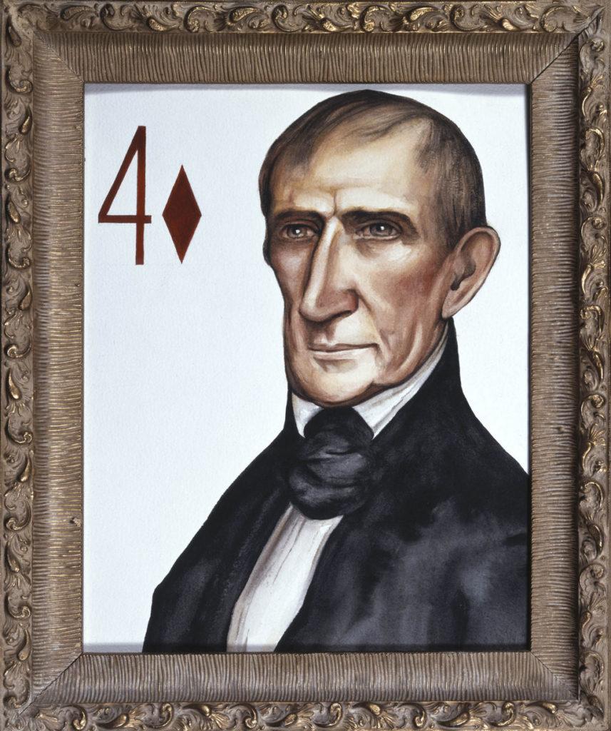 William Henry Harrison art Tina Mion painting
