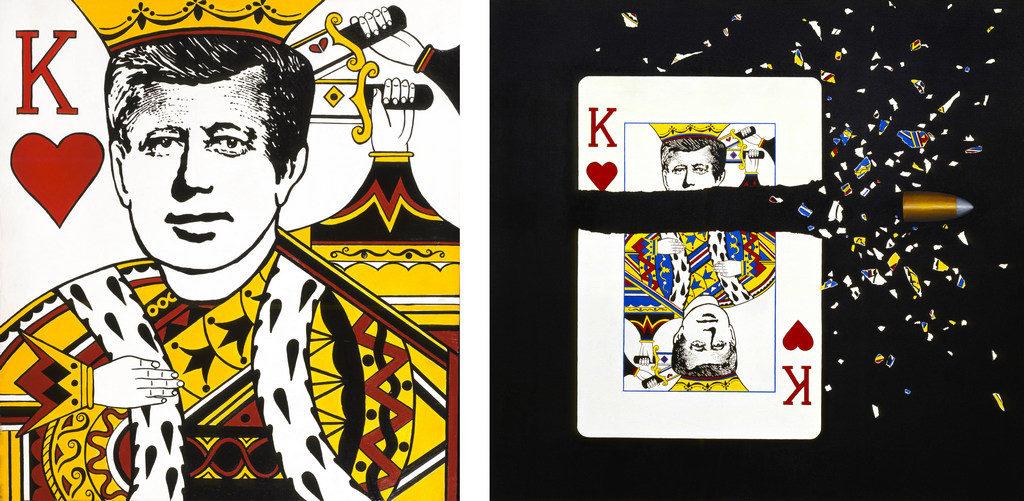 John Fitzgerald Kennedy JFK art tina mion painting