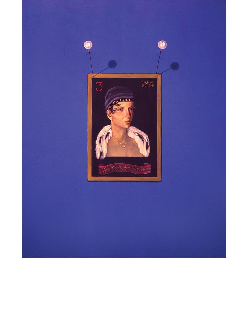 La Belle Americain - Elizabeth Monroe, Three of Diamonds, Tina Mion